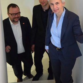 Dr.Marie-Agnes Strack-Zimmermann und Dr.Christian Jung Dr. Benedikt Kohout FDP Auri Akustik