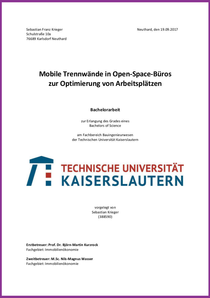 Auri Akustik Gratuliert: Erfolgreiche Bachelorarbeit Zur Akustik In Open-Space-Büros