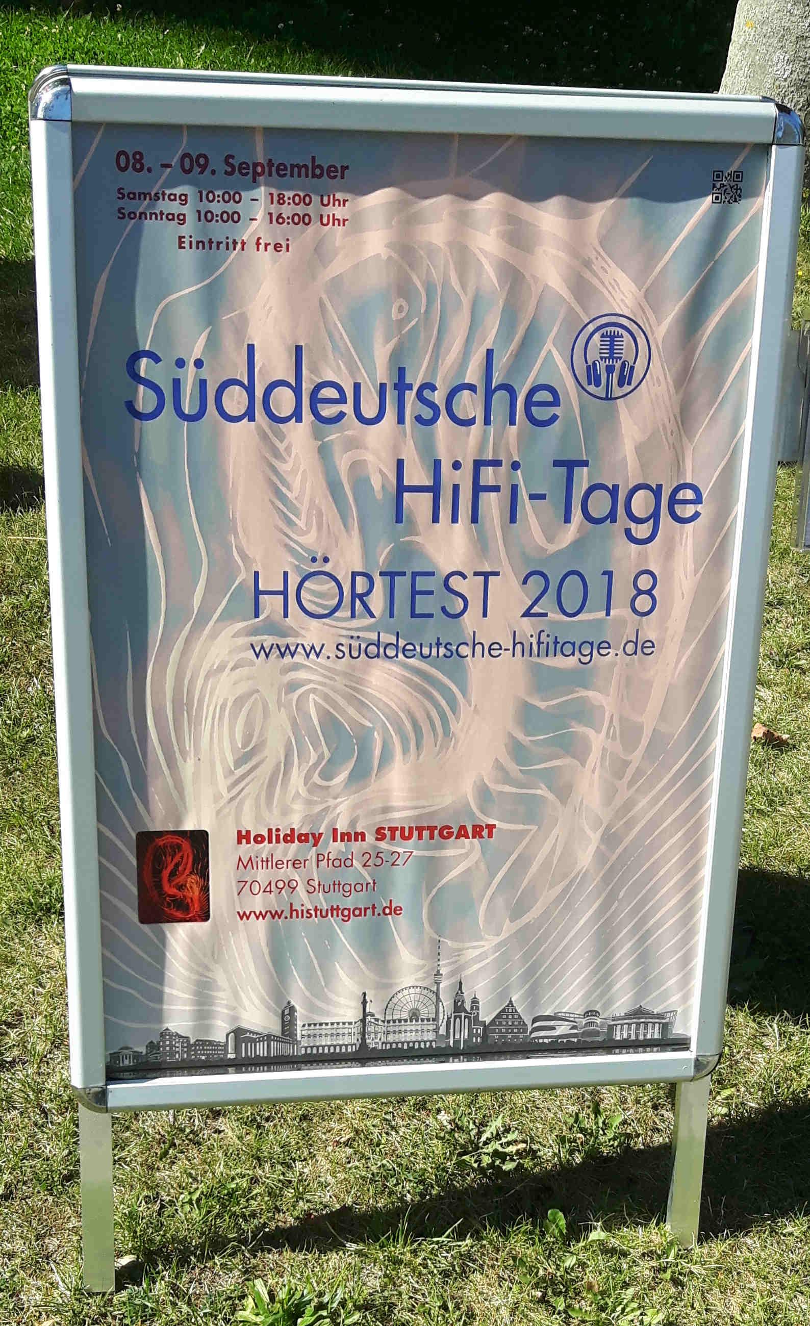 Auri Akustik Süddeutsche HiFi Tage Stuttgart 2018